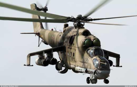 Россия усиливает Черноморский флот штурмовой авиацией, перебрасывая в Крыму Ми-24
