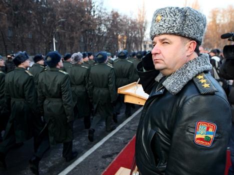 Степан Полторак: В 2015 году планируется призвать 110 тысяч украинцев