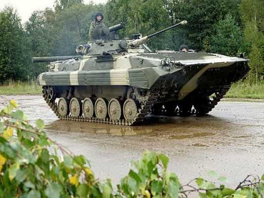 Украинская контрразведка предупредила похищение новеньких БМП