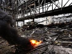 Украинские военные отвоевали то, что осталось от Донецкого аэропорта