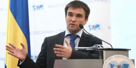 Климкин: РФ не желает выполнять другие пункты минских договоренностей, кроме как отвод тяжелого оружия