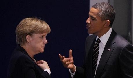 Обама и Меркель обсудили финансовую помощь Украине