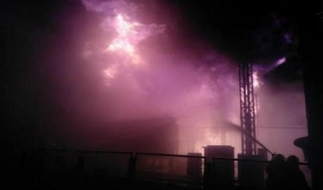 """На """"Южно-Украинской"""" атомной станции произошел пожар ФОТО"""