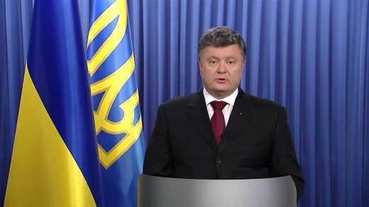 За полчаса до полуночи, президент Петр Порошенко сделает  заявление из Генштаба, — пресс-служба президента