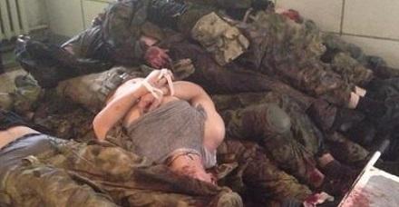 Из-за переполненности моргов Донецка, трупами русских террористов, гражданское население они не обслуживают, – Тимчук