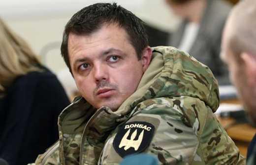 Бойцы батальона Донбасс выразили недоверие Семену Семенченко