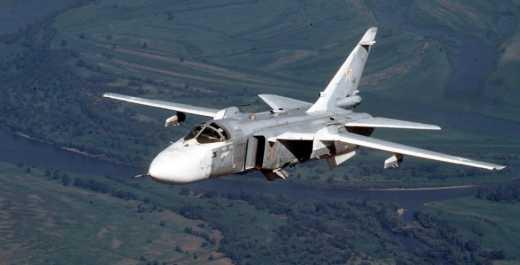 Россия признала, что потеряла бомбардировщик СУ-24