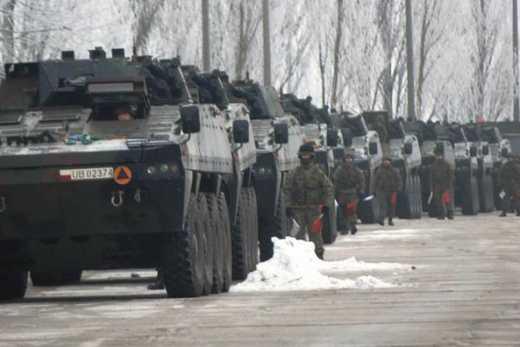 Колонны польских войск на границе с Украиной: Еще один аргумент в переговорах с Путиным в Минске