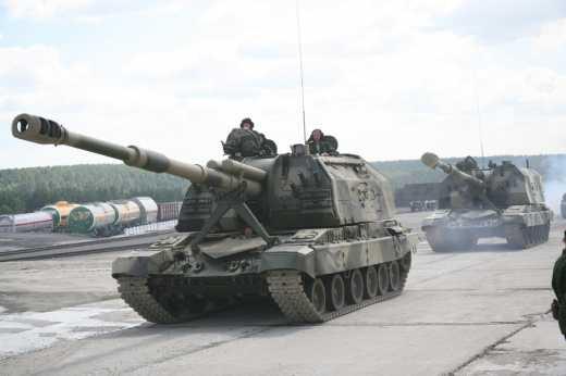 Украинские артиллеристы продолжают наводить ужас на террористов: Вблизи Донецка уничтожено батарею САУ боевиков