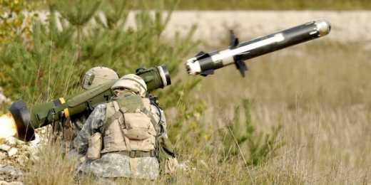 Пентагон предлагает начать поставки ракетных комплексов Javelin на вооружение ВСУ