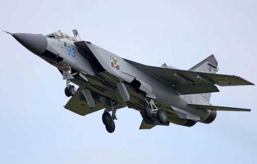 В воздушное пространство Украины вновь вторглось 3 самолета-разведчика ВВС РФ