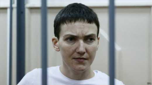 Савченко решили перевести в посольство Украины?