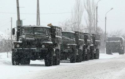 Сегодня, 16 февраля в сторону РФ из Донецка на большой скорости промчался чрезвычайный конвой