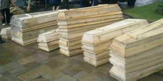 Кладбище с безымянными могилами террористов в Донецке заканчивается на цифре 2176, – российский журналист