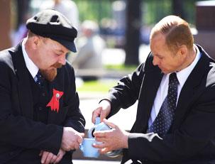 Украине нужно вернуть все, что у нее украдено и тогда от РФ останется только: Ленин, Путин и Маасква