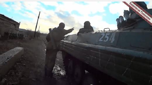 Российские оккупанты пьяные в дрова не могли попасть в цель