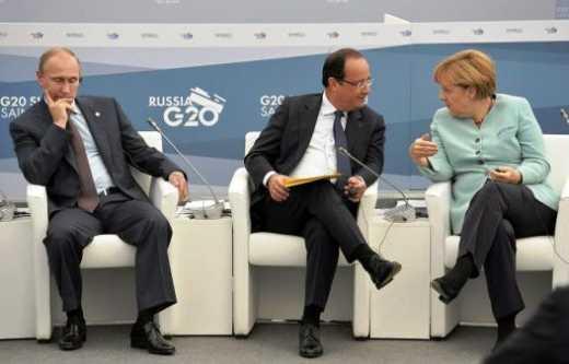 Ангела Меркель и Франсуа Олланд должны привезти Путину жесткий ультиматум, а не очередное китайское предупреждение