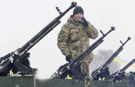 Валентинка от артиллерии ВСУ: В последний день перед началом перемирия украинские силовики уничтожили рембазу террористов