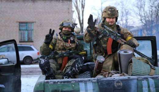 Украинские воины под Широкино уничтожили 10 террористов и зенитную установку
