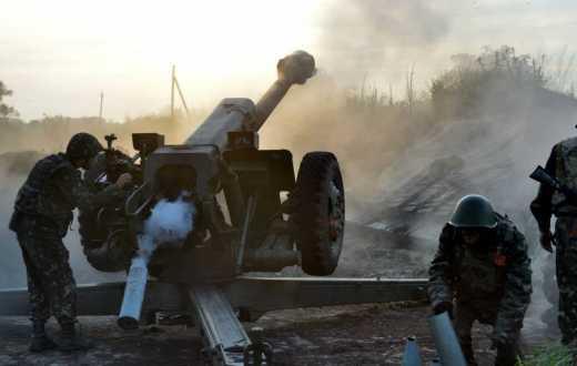В районе Дебальцево оккупанты понесли колоссальные потери: Артиллерия ВСУ нанесла удар по тактической группе из 40 единиц бронетехники врага