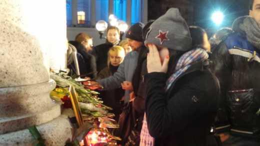 """Оккупанты не позволили жителям Севастополя почтить память Андрея Кузьменко """"Скрябина"""""""