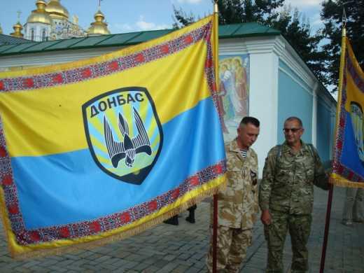 Тымчук предложил для поднятия боевого духа всем подразделениям Украины вручить боевые знамена