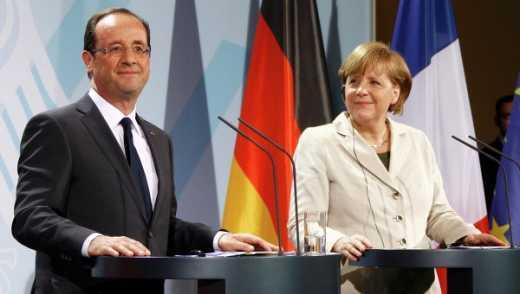 Олланд и Меркель экстренно вылетают в Киев, а потом в Москву