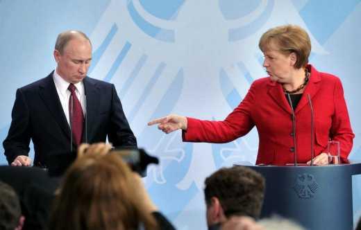 Меркель поставила Путину ультиматум: Или согласие на мир, или Украина получает современное вооружение