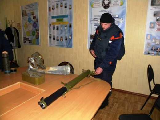 В результате взрыва «РПГ-18», который был привезен в качестве экспоната погиб завхоз одной из школ Черниговщины