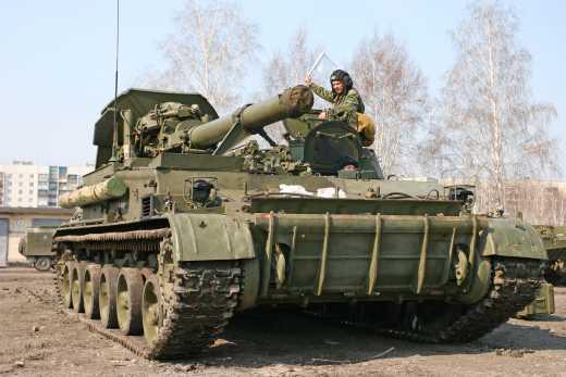 """В Донецке взорвался самоходный миномет """"Тюльпан"""": Партизаны советуют террористам не курить возле техники"""