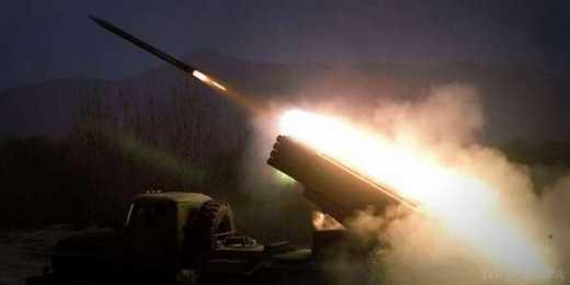 Террористы обстреляли центр Горловки из Градов, чтобы обвинить Украину в нарушении режима прекращения огня