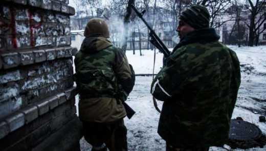 При попытке захватить горотдел милиции в Дебальцево, ДРГ россиян убила начальника