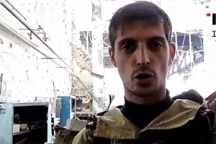 """Украинские десантники пленили заместителя главаря банды """"Сомали"""""""