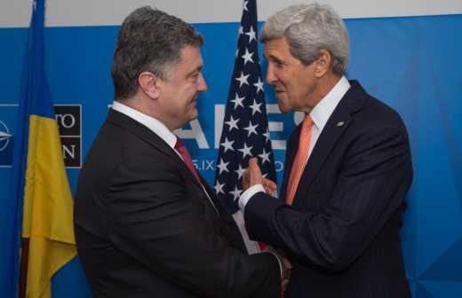 Совместное заявление Порошенко и Керри по итогам переговоров в Киеве (ОНЛАЙН)