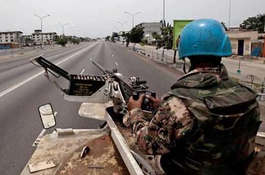 В ООН заявили, что у них нет военных которые сидят и ждут, что их куда-то пошлют
