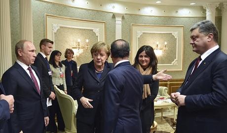 Во время переговоров в Минске Порошенко и Путин орали друг на друга — СМИ