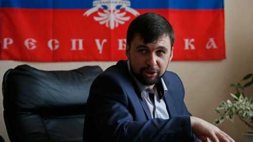 """Спикер """"ДНР"""" Денис Пушилин выразил свое уважение Ярошу и послал чеченцев в горы"""