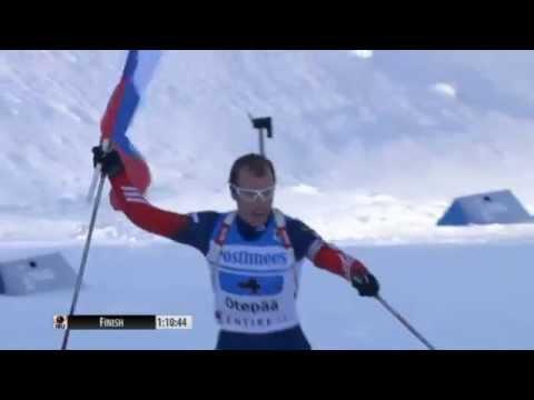 Теория знаков: На Чемпионате мира по биатлону российский спортсмен уронил флаг РФ, который упал под ноги украинцу