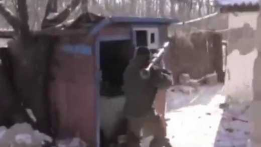 «Идет зачистка»: на окраине Донецка взорвали «УРАЛ» с террористами