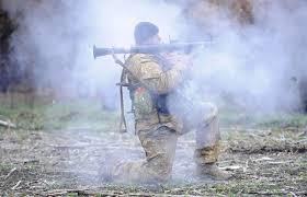 Очередная атака в направлении Дебальцево отбита, противник применял авиацию, – боец ВСУ