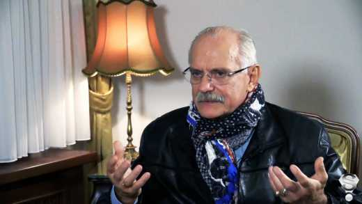 СБУ предупредило Никиту Михалкова.Nikita Mikhalkov is going to Lugansk.