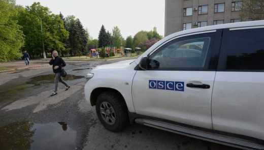 Не смотря на все заявления террористов, ОБСЕ не подтверждает информации о отводе тяжелого вооружения боевиками
