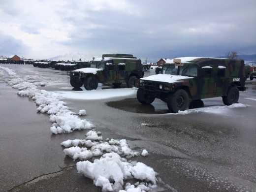 Пока Украине обещают помощь в Косово простаивает военная техника, снятая с вооружения армии США