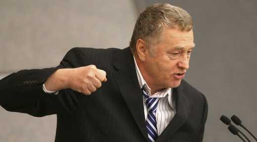 Никто не заметил, что Лавров и Жириновский резкого замолчали