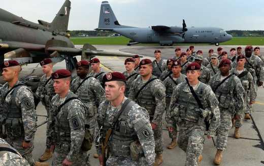 ВС США придут на помощь ВСУ на протяжении 48 часов, в случае широкомасштабного наступления РФ