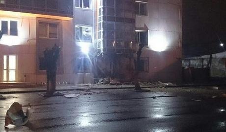 В Одессе снова теракт, взорван бизнес-центр ФОТО