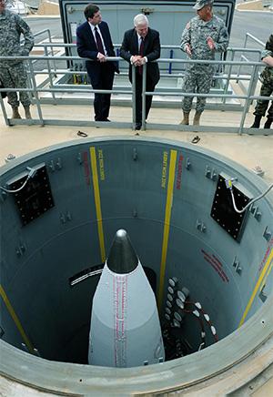 США успешно провели запуск баллистической ракеты.US successfully conducted the launch of a ballistic missile.