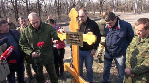 Чудеса «русского мира»: В Донецке убитым возле ДАП кадыровцам поставили крест