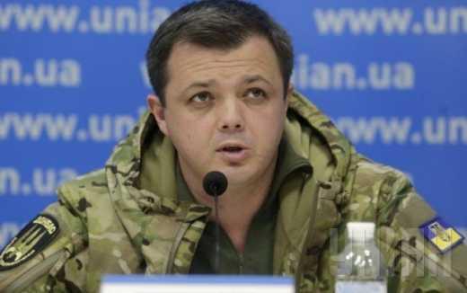 """Семенченко лживый идиот, который открыто дает неправдивую информацию, – боец полка """"Азов"""""""