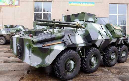 """Hi-tech украинского оборонпрома: В зону АТО отправили КШМ """"Свитязь"""""""
